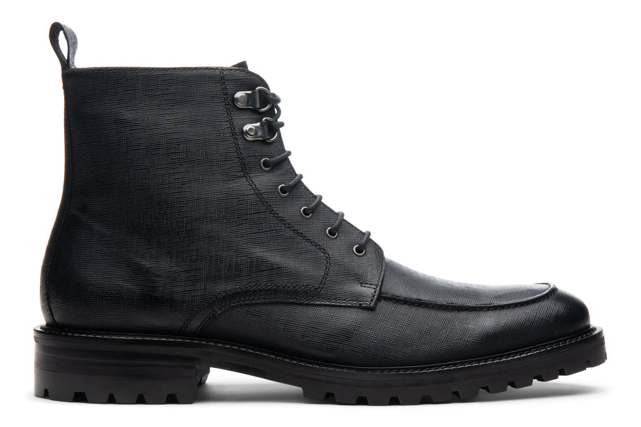 Blake McKay Warren Lug Boot in Black Side View