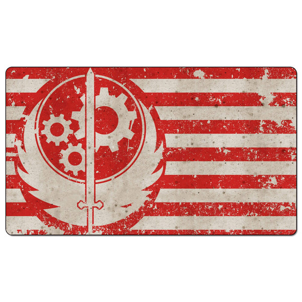 Fallout-the-Board-Game-playmat-brotherhood-of-steel-flag