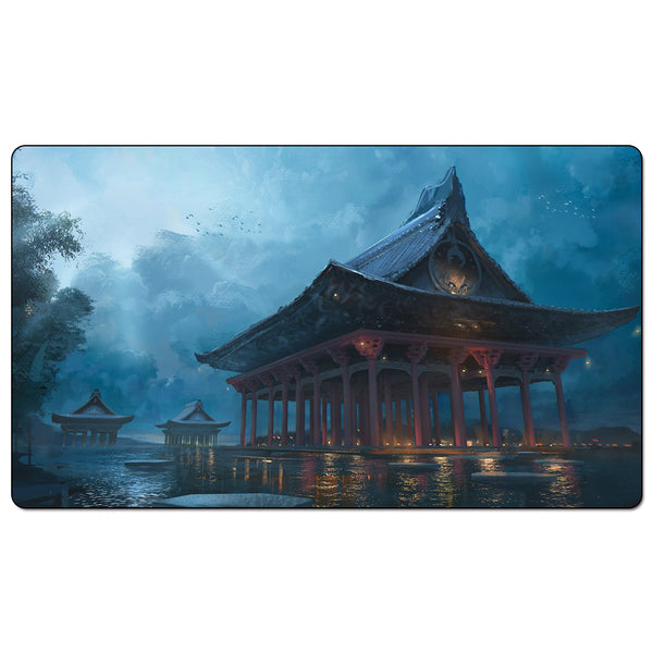 L5R Playmat Phoenix clan The Majestic Temple of the Phoenix