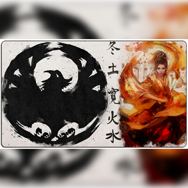 Legend of the Five Rings L5R LCG Playmat : Phoenix clan