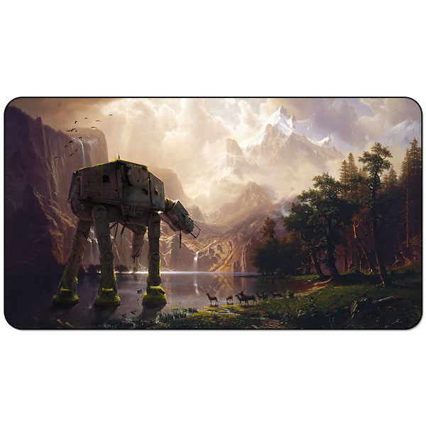 Star Wars Playmat : abandonned AT-AT