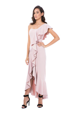 VALENTINA GOWN-PINK-GEORGY COLLECTION-FRONT