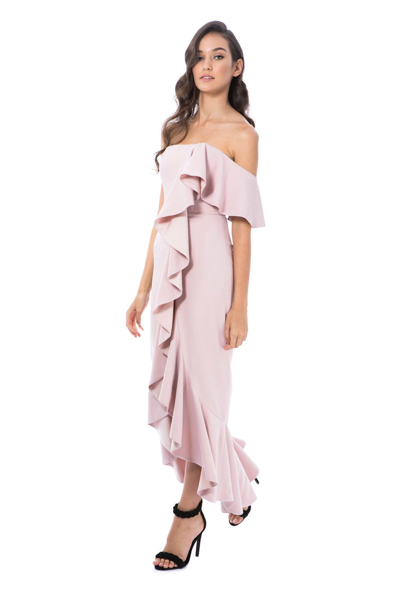 VALENTINA GOWN-PINK-GEORGY COLLECTION