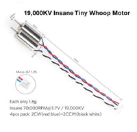 Crazepony Motor (Speed: Insane) 19000KV 6x15mm 615 Motor (Pack of 4)