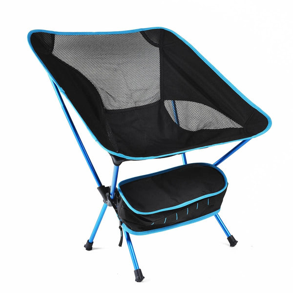 Folding Portable Chairs with Carry Bag - Sky Blue