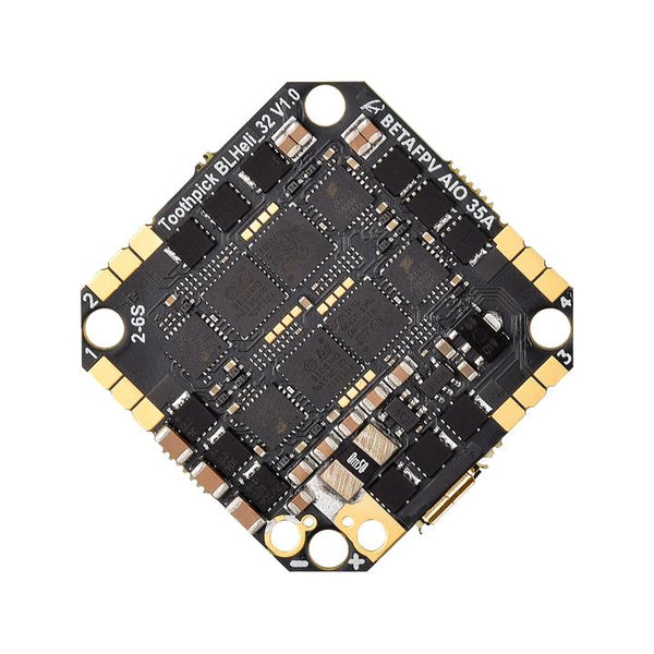 BetaFPV Toothpick F4 2-6S AIO Brushless Flight Controller 35A (BLHeli_32)