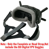 Faceplate Eye Pad / Head Strap for DJI Digital FPV Goggles Replacement Set