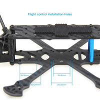 HGLRC Sector150 Freestyle Frame Kit with 3 inch Propeller guard