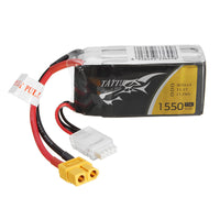 TATTU 1550mAh 11.1V 75C 3S1P Lipo Battery