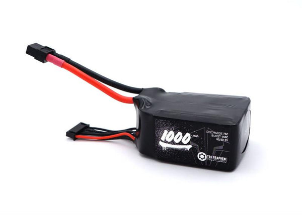 TBS Graphene 1000mah 6S 75C 22.2V Lipo Battery