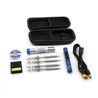 SEQURE SQ-001 65w Adjustable Soldering Iron with Tool Bags (w/ AC Power Adaptor)