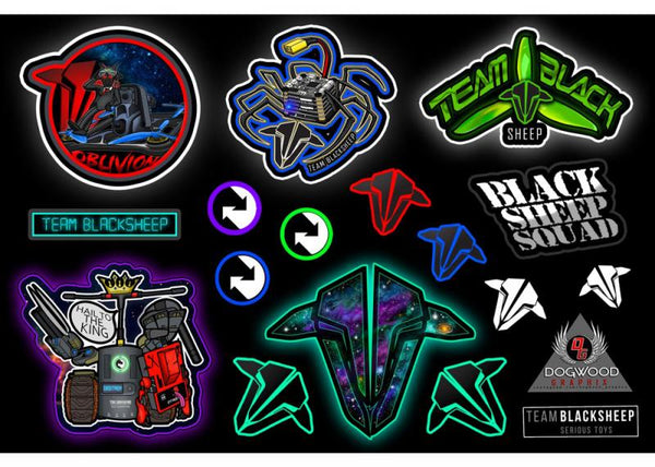 TBS Stickers - DogWood Graphix