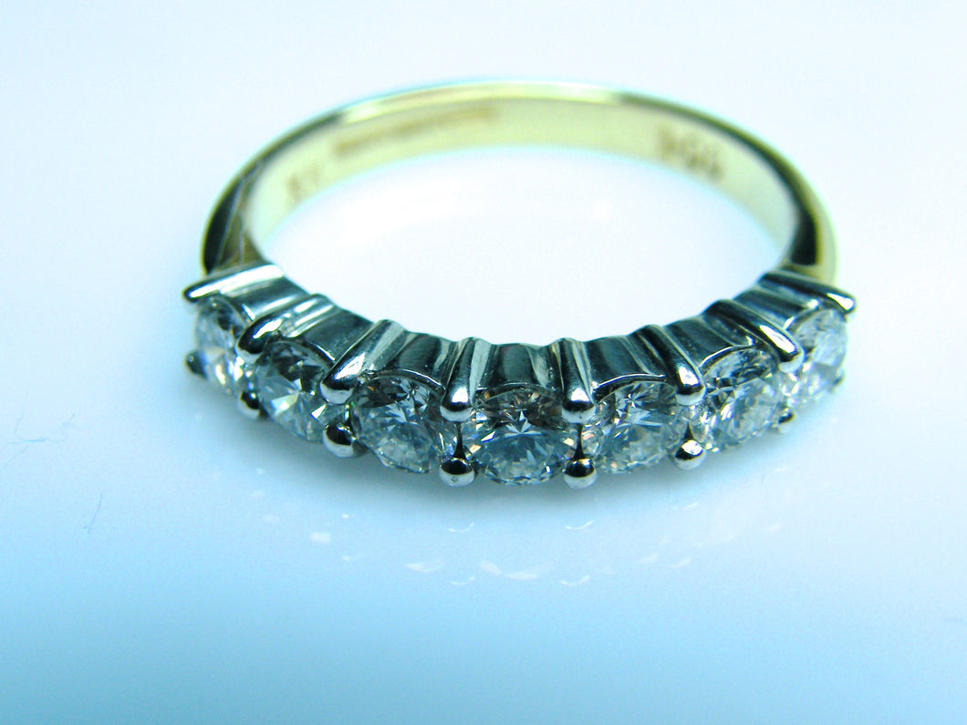 18ct Gold Diamond Eternity Ring - agiftireland