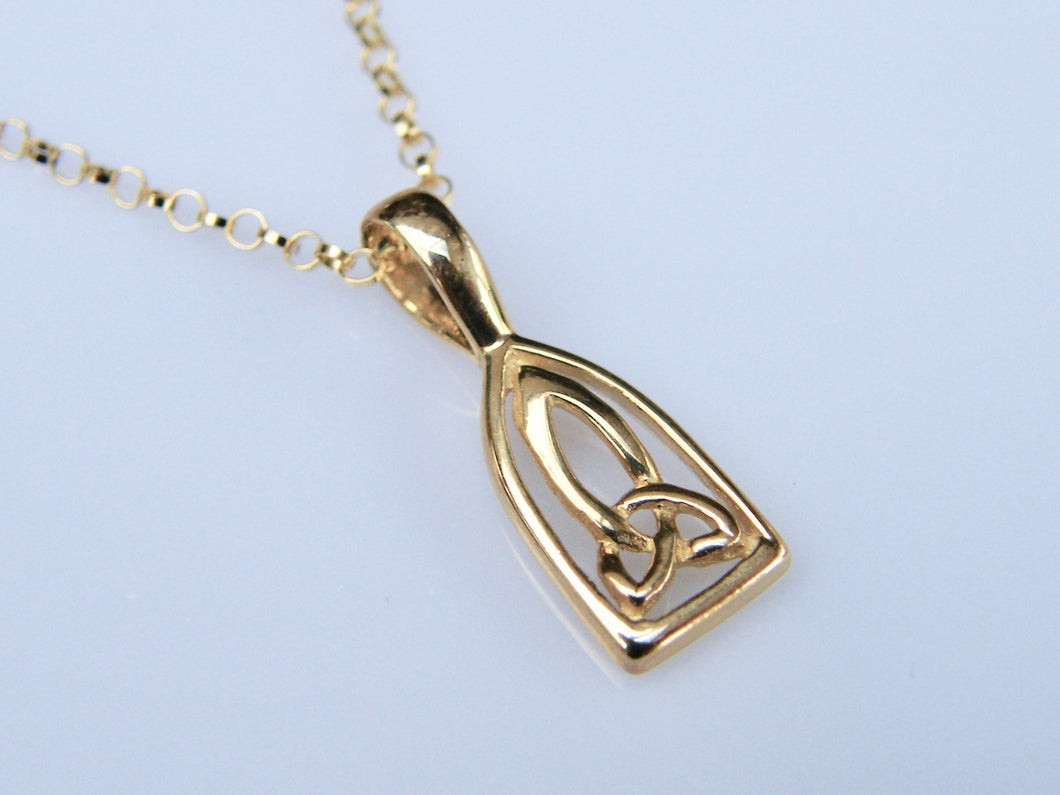 9ct Gold Celtic pendant - agiftireland