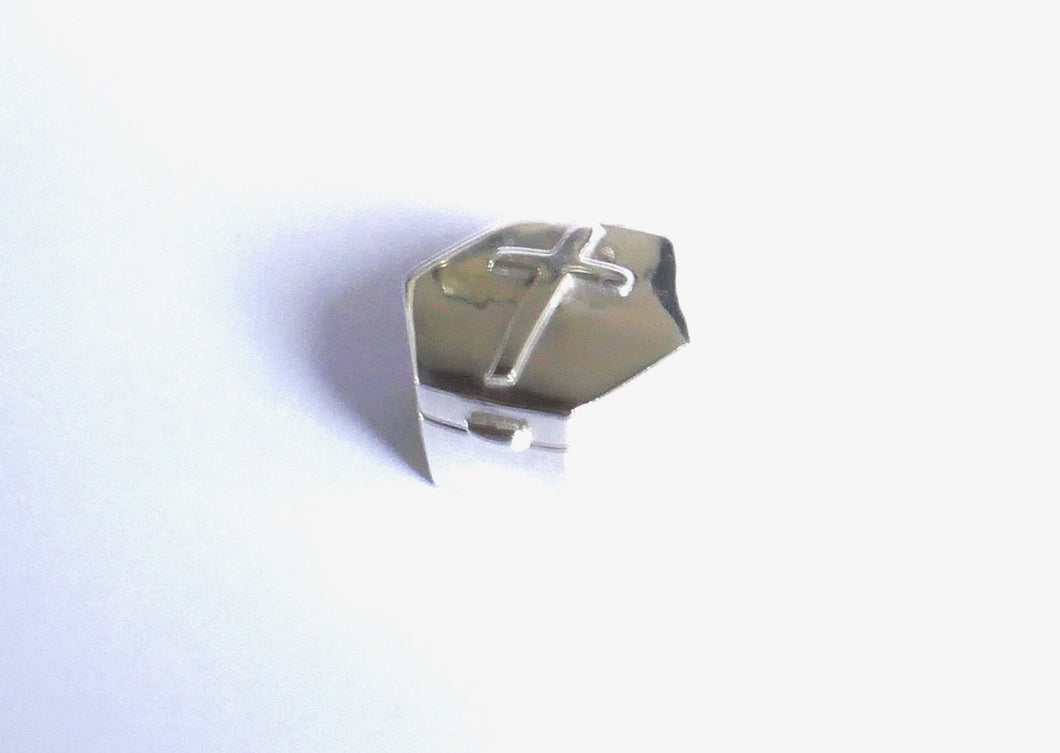 Small Sterling Silver with Cross box - agiftireland