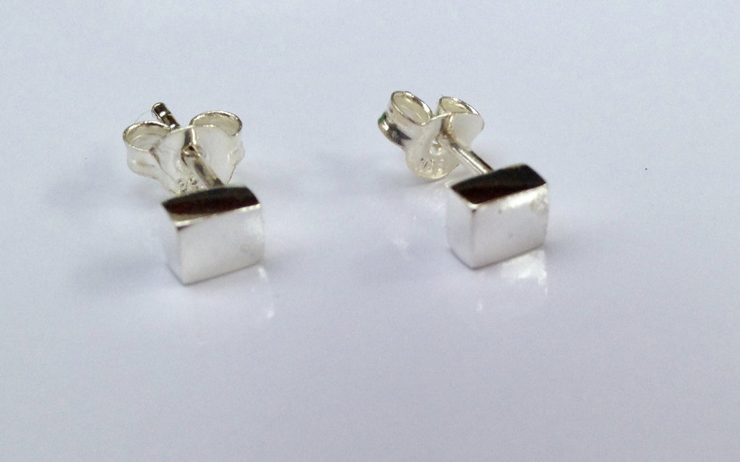 Sterling Silver small box Earrings - agiftireland