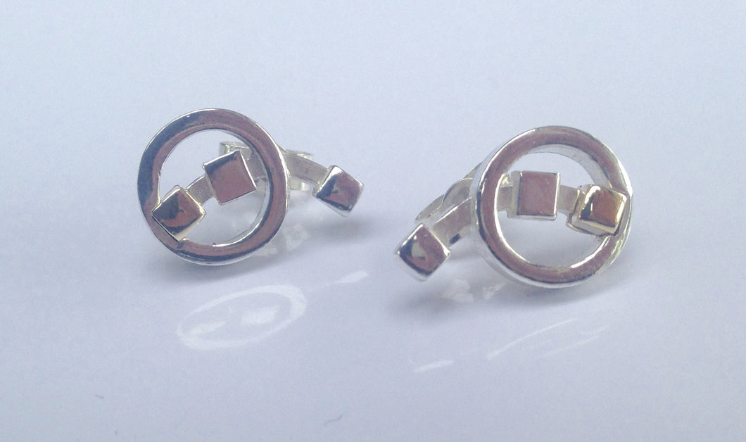 Rennie Mackintosh Sterling Silver Earrings - agiftireland