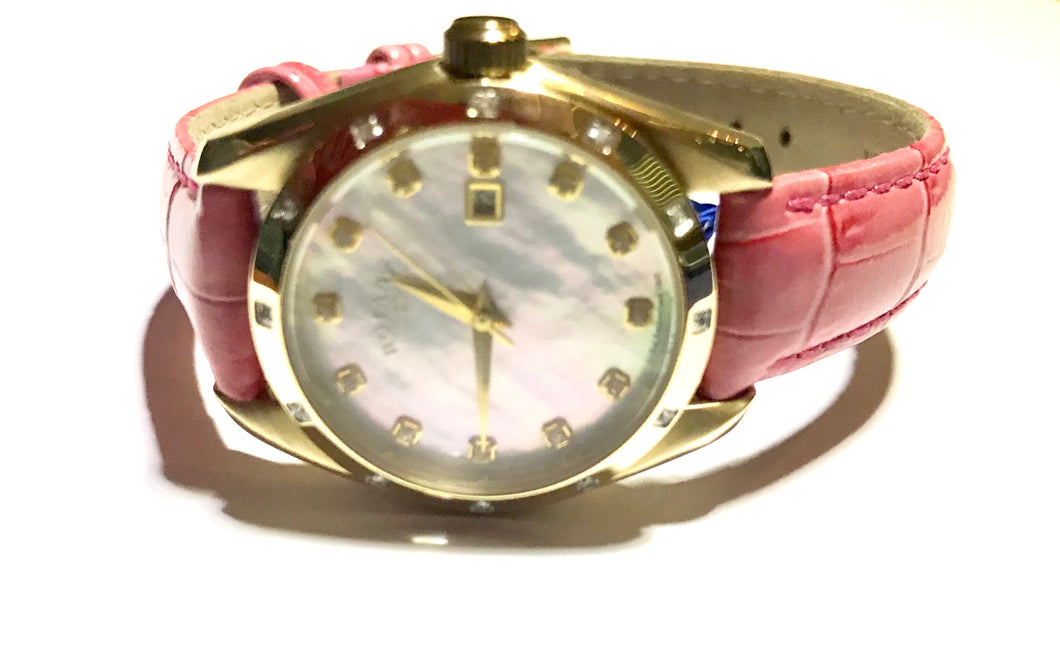 Rotary with Diamonds ladies strap quartz watch - agiftireland