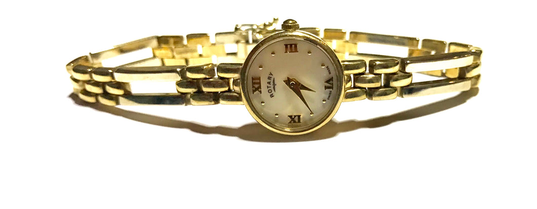 Rotary 9ct Gold Ladies Bracelet Watch - agiftireland