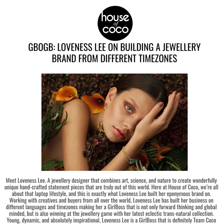 Loveness Lee's interview with House of Coco