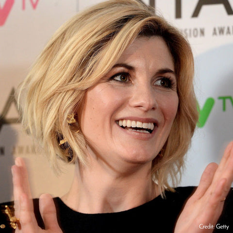 Jodie Whittaker wearing Loveness Lee at the NTA's 2018