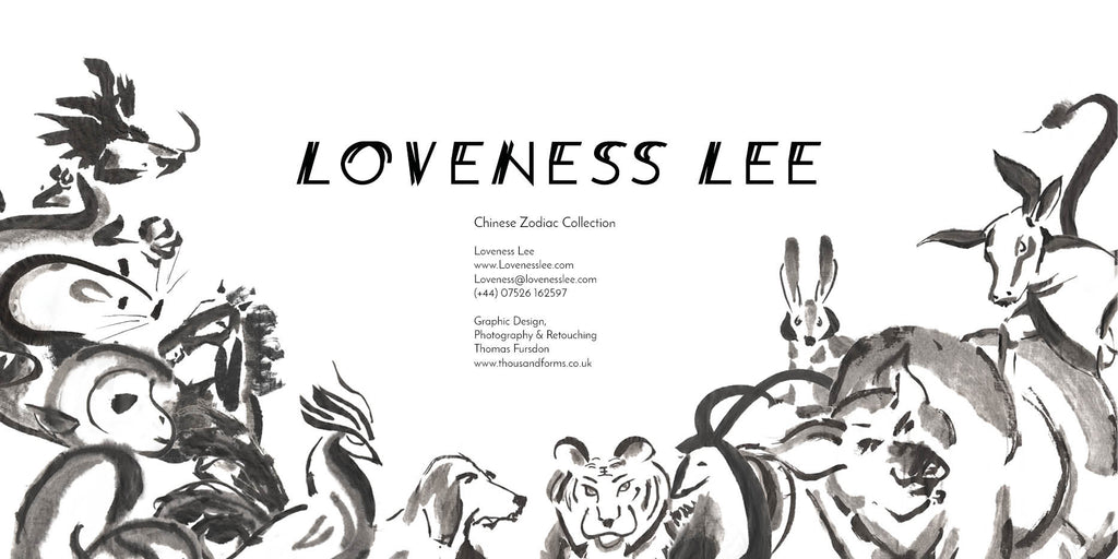 Loveness Lee Chinese Zodiac Lookbook Credits