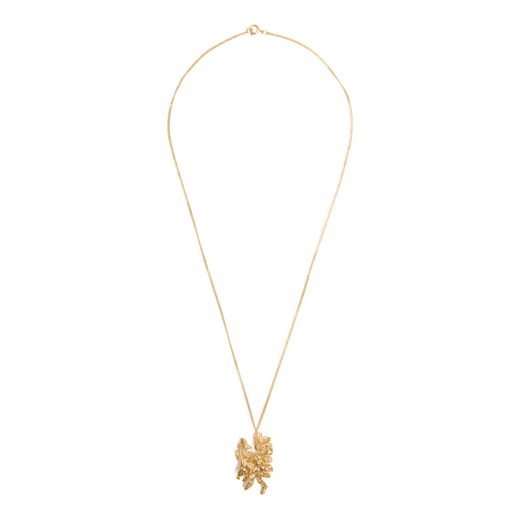 Chinese Zodiac Dragon Gold Pendant Necklace