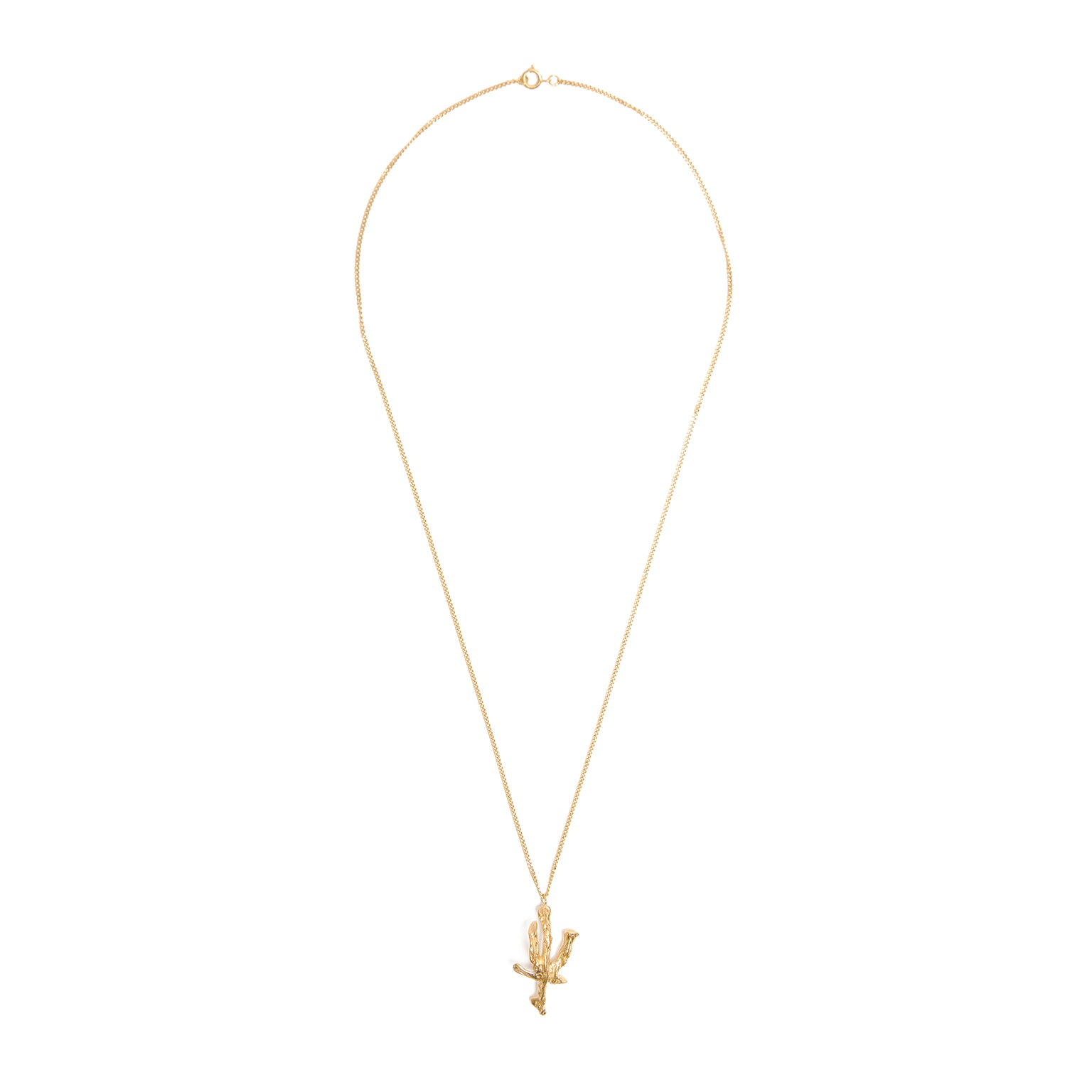 Loveness Lee Online Store Necklaces Chinese Zodiac Ox Gold Pendant