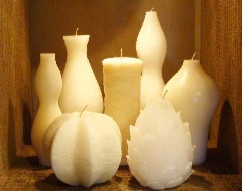 Molded Candles by Swazi Candles