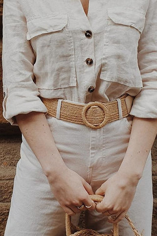 Straw O Belt - girlyrose.com
