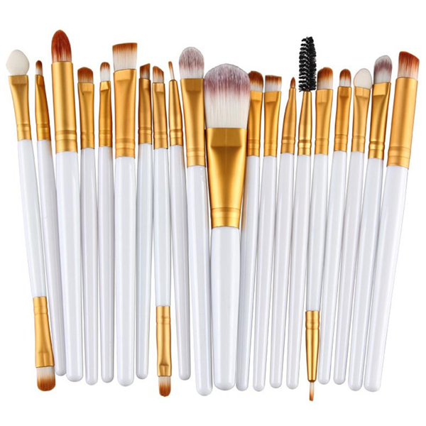 20 Piece Brush Set - girlyrose.com