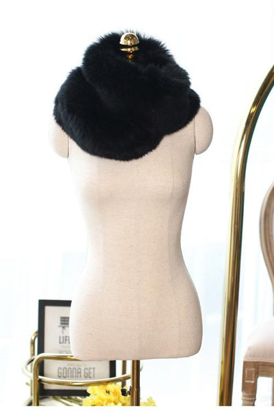 Faux Fur Shawl - girlyrose.com