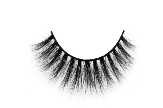 100% Real Mink Strip Lilly Lashes Makeup Natural Fluffy Soft Eyelashes