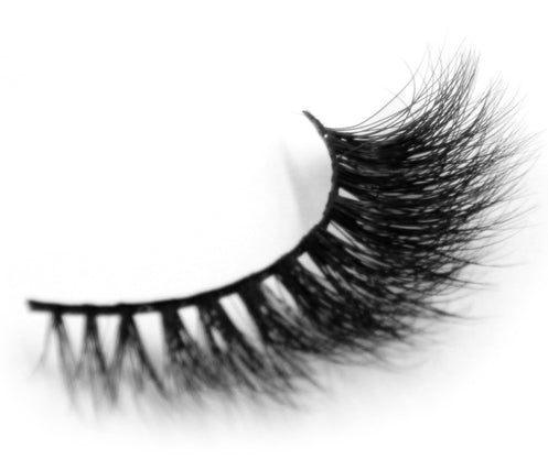 3D Mink Fur False Eyelashes Soft Mink Hair Strip Lashes Reusable - girlyrose.com