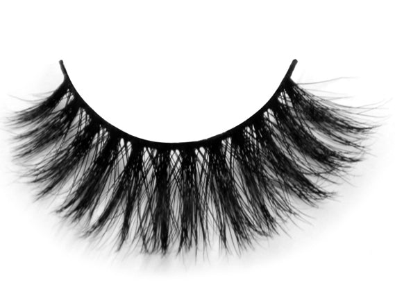 3D Mink Eyelashes False Lash Strip - girlyrose.com