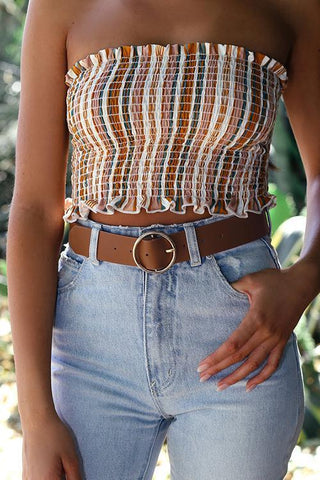 O Ring Belt - girlyrose.com