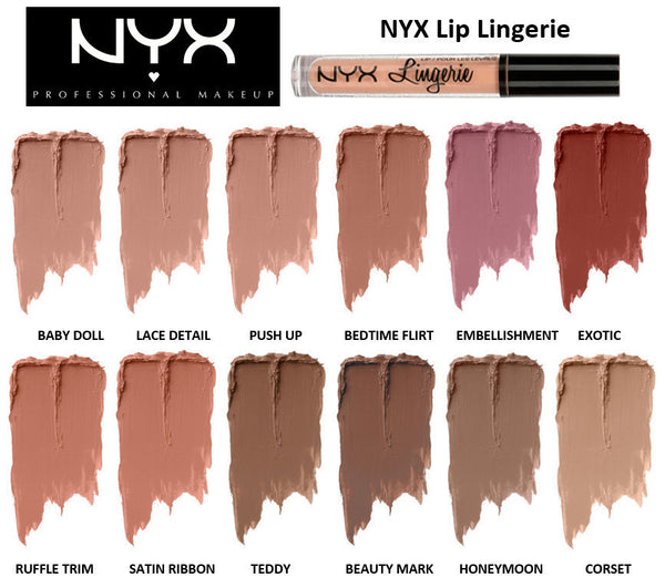 NYX Matte Liquid Lipsticks and Mascara