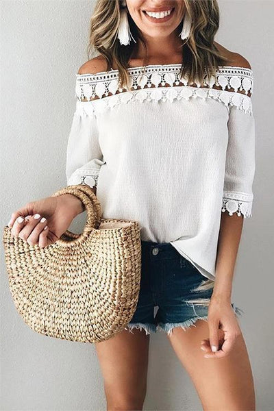 Corn Skin Straw Bag - girlyrose.com
