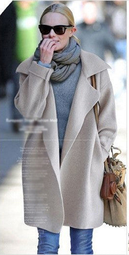Swing Coat in Longline