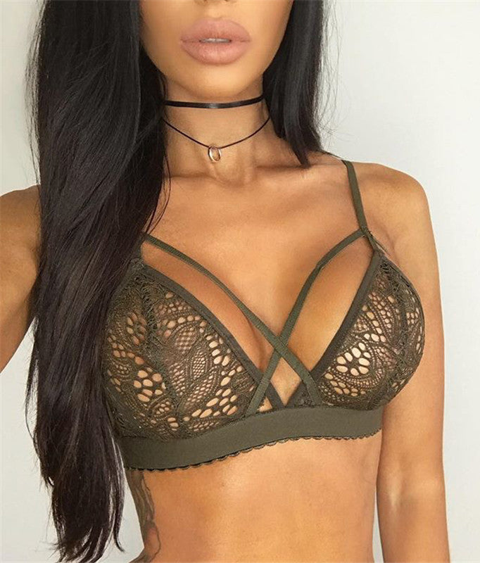 Sexy No Falsies Lace Lingerie - girlyrose.com