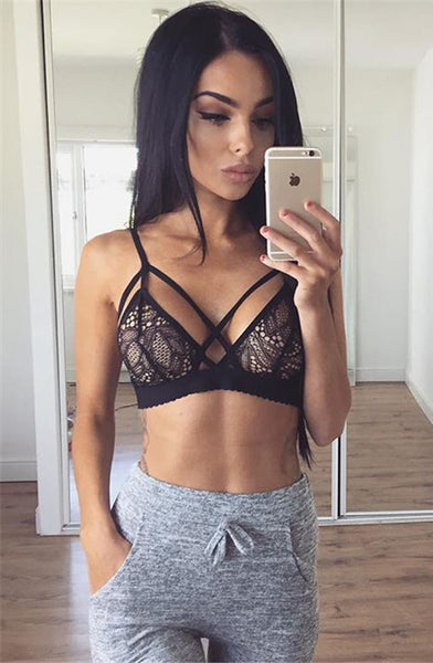 Sexy No Falsies Lace Lingerie