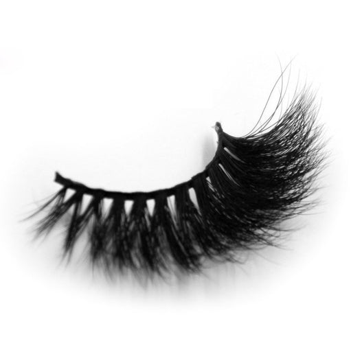 3D Mink False Eyelashes Long Strip Party Miami Lashes - girlyrose.com
