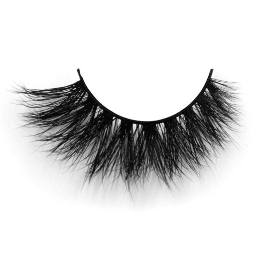 Lilly Miami 3D Full Strip Lashes 100% Real Siberian Mink Strip Eyelashes 3D Mink - girlyrose.com