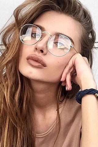 Clear lens Glasses - girlyrose.com