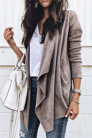 Casual Drape Jacket
