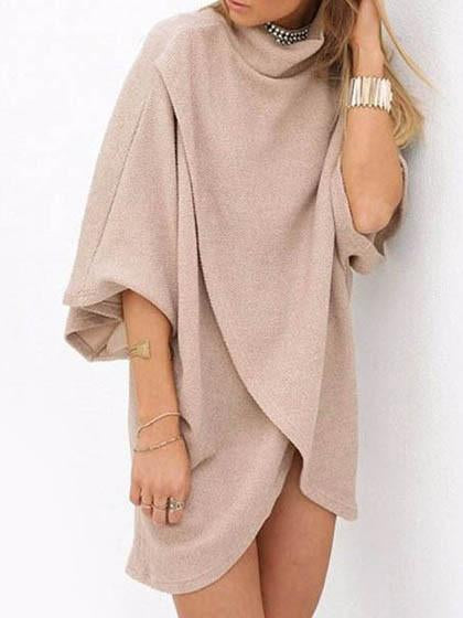 Fall Fashion Sweater Ivory Oversize Coat