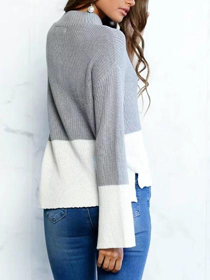 Fashion Flared Casual Sweater