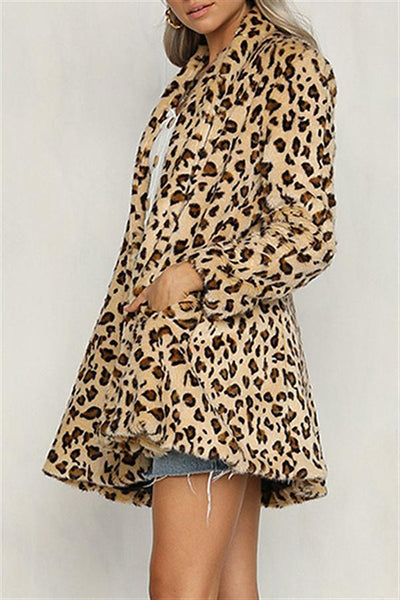 Fashion Leopard Coat - girlyrose.com