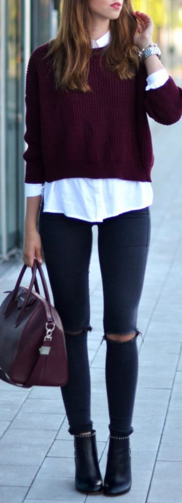 Fashion Trends Daily - 34 Chic Outfits On The Street (Fall - Winter) - girlyrose.com
