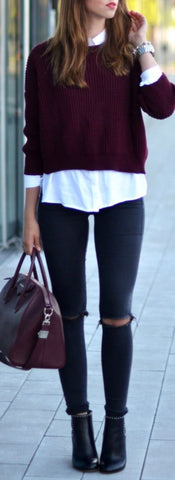 Fashion Trends Daily - 34 Chic Outfits On The Street (Fall - Winter)